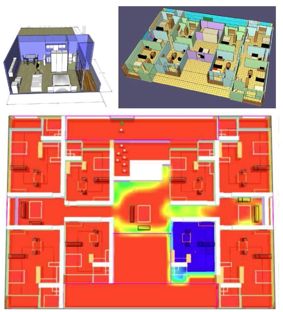 老人住宅之規劃設計與火災逃生動態模擬